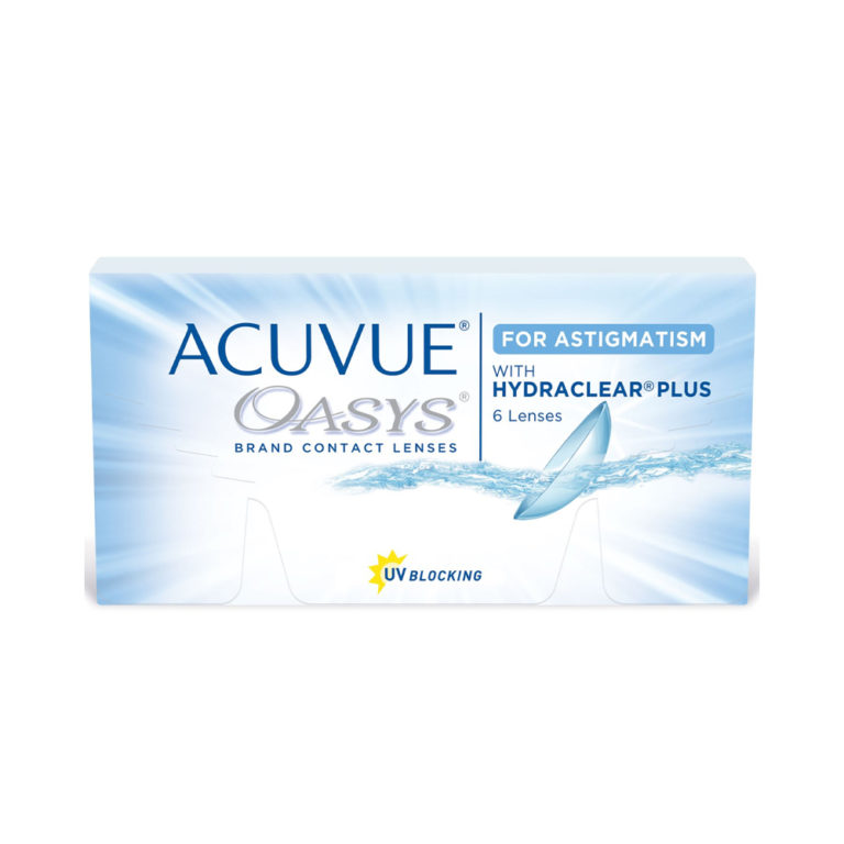 ACUVUE OASIS WITH HYDRACLEAR PLUS FOR ASTIGMATISM 6 ШТ.