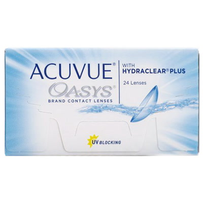 ACUVUE OASIS WITH HYDRACLEAR PLUS 24 ШТ.