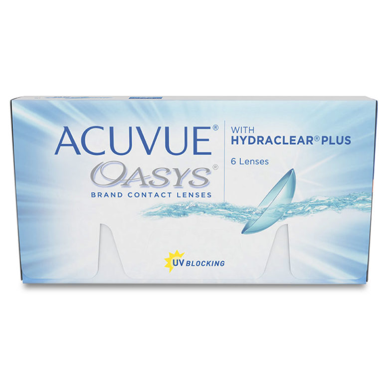 ACUVUE OASIS WITH HYDRACLEAR PLUS 6 ШТ.